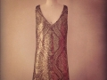 jackpot-gold sequin dress
